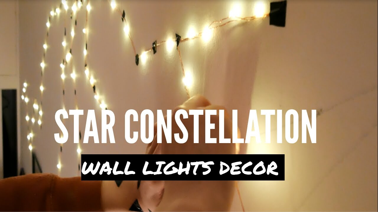 Star Wall Decor Ideas: STAR CONSTELLATIONS - WALL DECOR