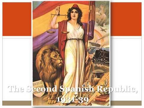 07 Spanish Civil War : short term causes - Second Spanish Republic