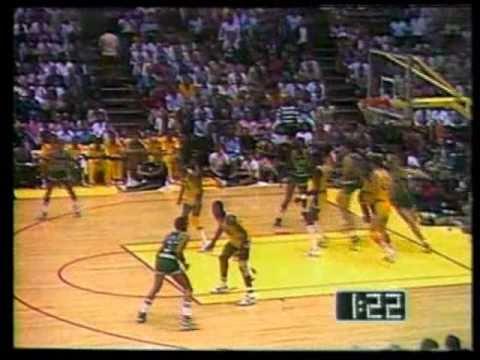 1984 NBA Finals: Celtics at Lakers, Gm 4 part 12/13
