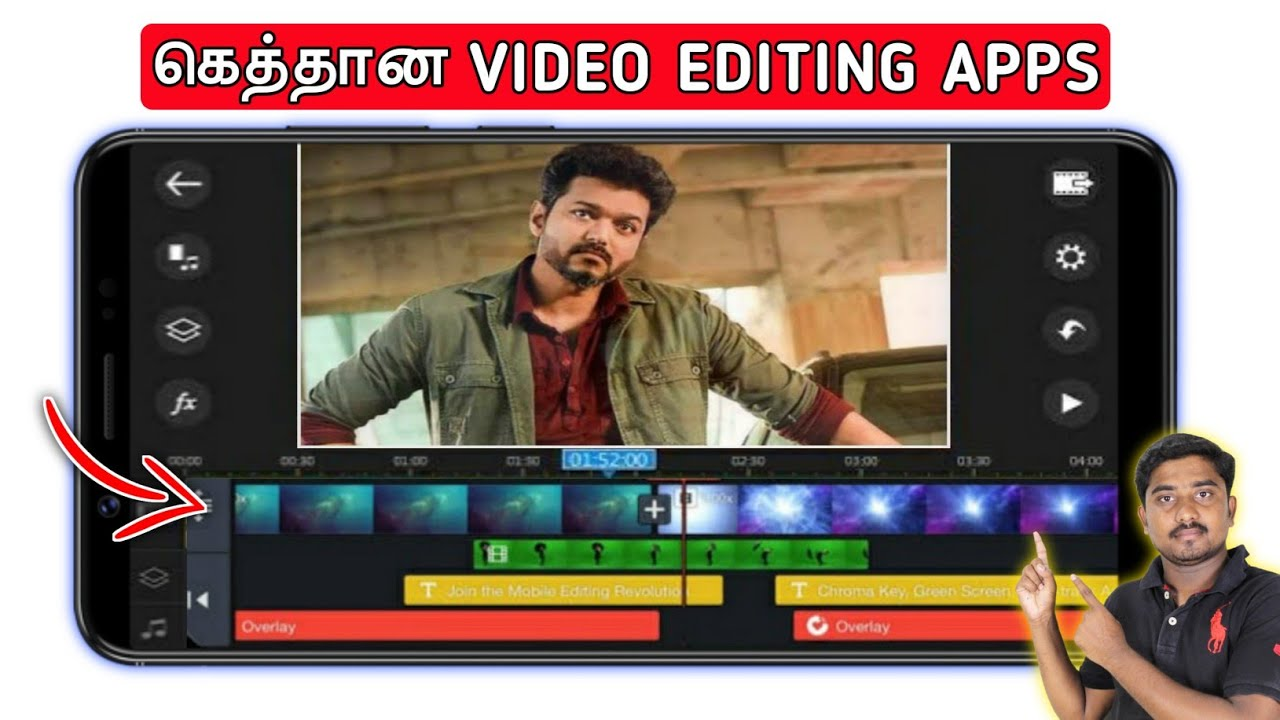 Top 3 Professional Video Editing Apps | Best Video Editing Apps For Android Tamil