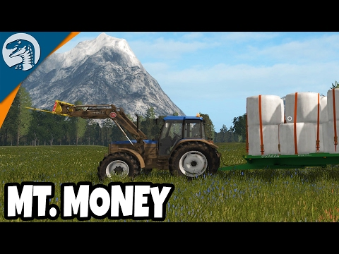 GIANT MOUNTAIN OF MONEY  Rappack Farms #22 | Farming Simulator 17 Multiplayer Gameplay