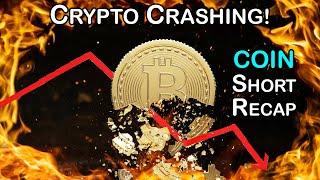True Trading Group LIVE: HUGE Large Cap Short Trade Recap COIN - Bitcoin Crash + Major Announcement
