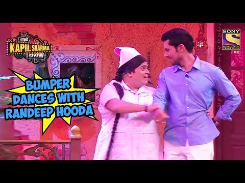 Bumper Dances With Randeep Hooda - The Kapil Sharma Show