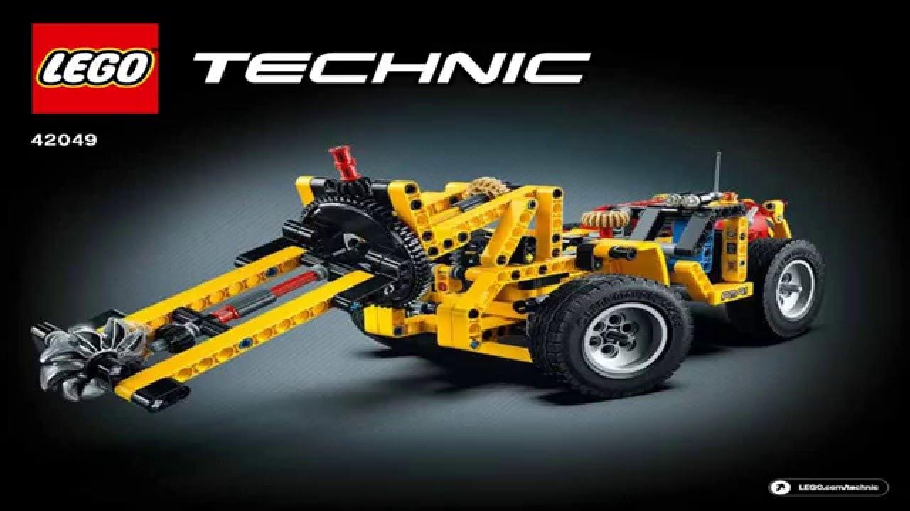 lego technic 2016 42049 mine loader v2 youtube. Black Bedroom Furniture Sets. Home Design Ideas