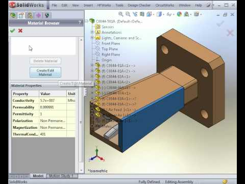 Antenna Simulation Software HFWorks: Analysis of a Horn Antenna part 1 of 2