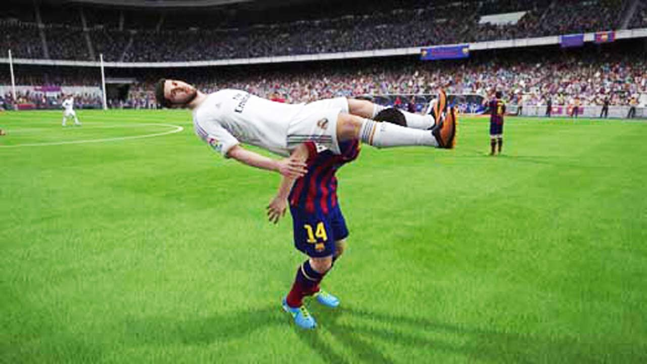 hilarious fifa 15 fail compilation glitches bugs. Black Bedroom Furniture Sets. Home Design Ideas