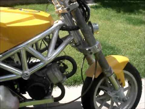 MIDI MOTO DUCATI MONSTER BIKE FOR SALE ON EBAY - YouTube