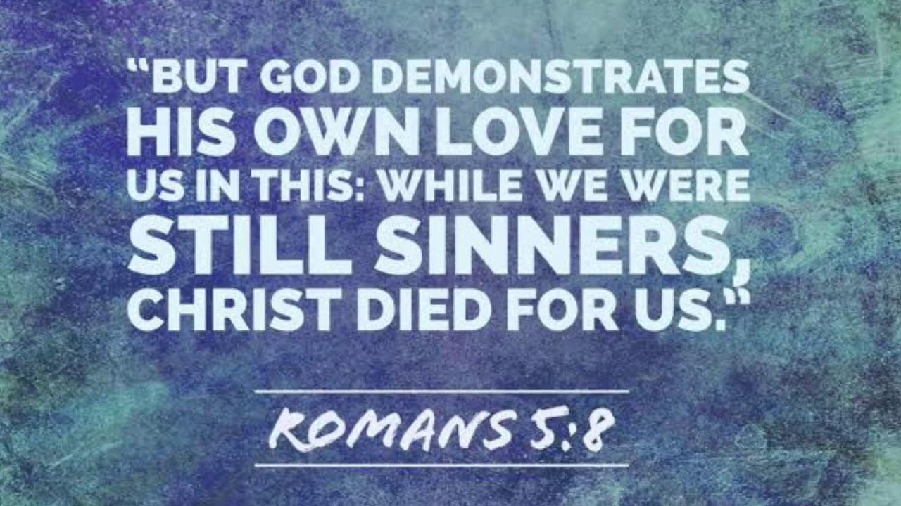 Romans 5:8 NIV HOPAC - YouTube