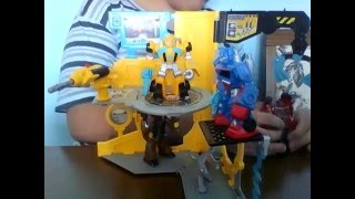 tf rescue bots rescue repair station