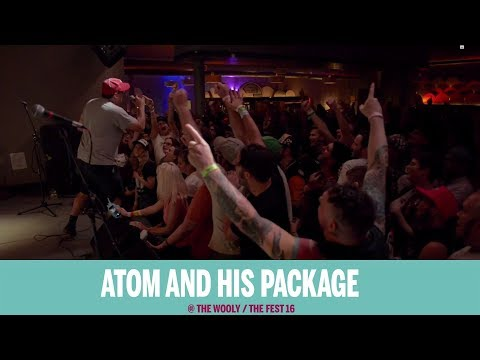 Atom and His Package @ The Fest 16 2017-10-27
