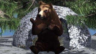 Анекдот. Что медведь сосет зимой?