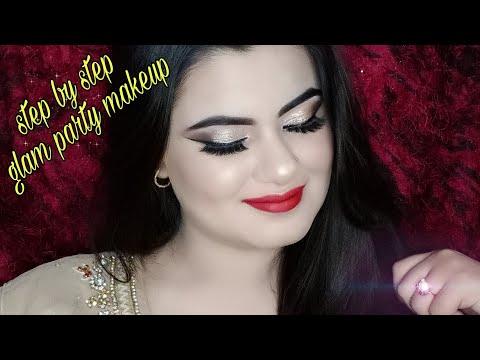 Step By Glam Party Makeup At Home