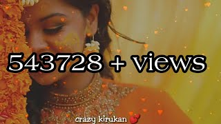 Female 💕voice 💕Kannukulla 💕nikkira 💕en💕kadhalane💕full 💕song