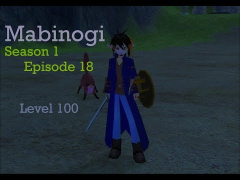 Lets Play Mabinogi 18 level 100 woo!