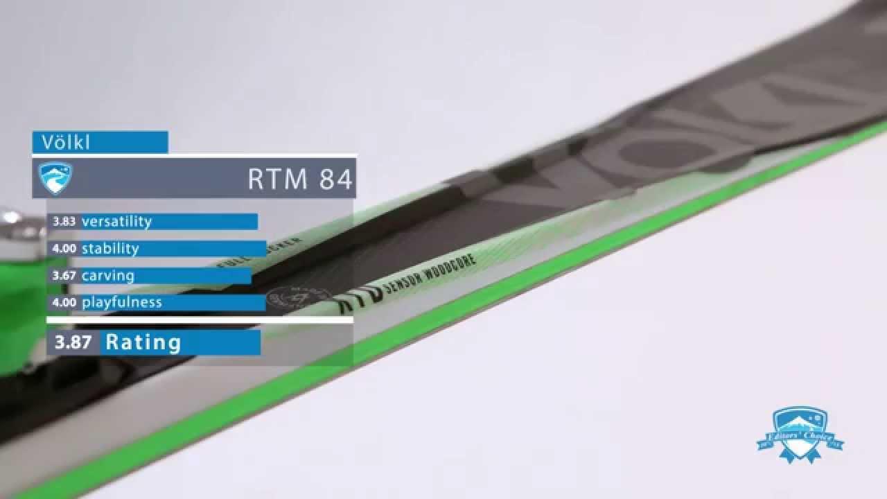 2015 Völkl RTM 84 -Ski Review