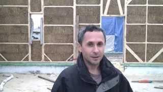 Завершение сборки дома из соломенных панелей(Заходите на наш сайт http://eco-bud.com/ или звоните нам по номеру +38 (067) 383-1885 и получите ответы на все свои вопросы..., 2013-10-15T19:11:04.000Z)