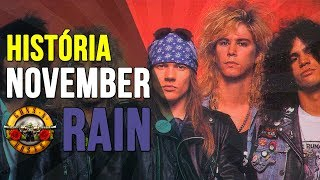 🌹 História: November Rain (Guns N' Roses) - Curiosidades da Música - Fone de Ouvido