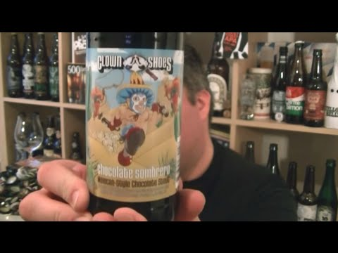 Clown Shoes - Chocolate Sombrero - HopZine Beer Review