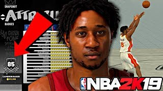 NBA 2K19 MyCAREER - MAXING OUT MY PLAYER TO A 85 OVERALL! SHOWING MY CUSTOM JUMPER AND DRIBBLE MOVES