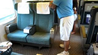 How to flip your seat on the bullet train! #Shinkansen