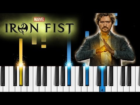 Iron Fist - Opening Theme - EASY Piano Tutorial