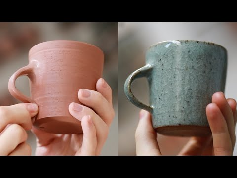 How a Handmade Pottery Cup is Made from Beginning to End — Narrated Version
