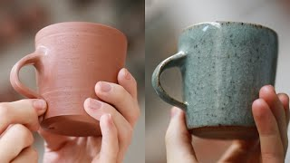 How a Handmade Pottery Cup is Made from Beginning to End - Narrated Version