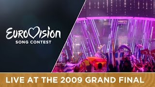 Soraya - La Noche Es Para Mí (Spain) Live 2009 Eurovision Song Contest
