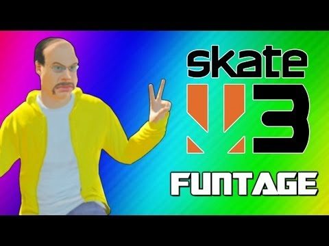 Thumbnail: Skate 3 Funny Moments 2 - Glitchy Stairs, Cocoon, Trick Fails, Becoming Pro Skaters! (Funtage)