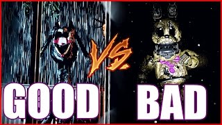 (GOOD ENDING VS BAD ENDING) Final Nights 3: Nightmares Awaken