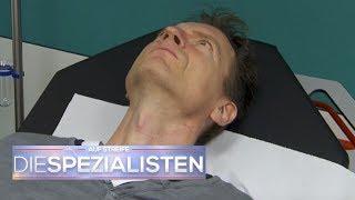 Arzt gibt Mann mit schlimmen Schmerzen Fake Medikamente | Auf Streife - Die Spezialisten | SAT.1 TV
