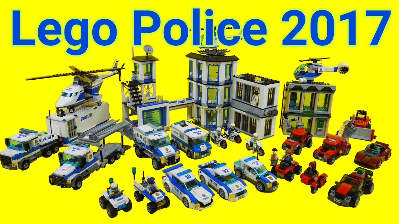 Lego Police Car Toys 2017 60135 60143 All Time Lapse Stopmotion Build Youtube