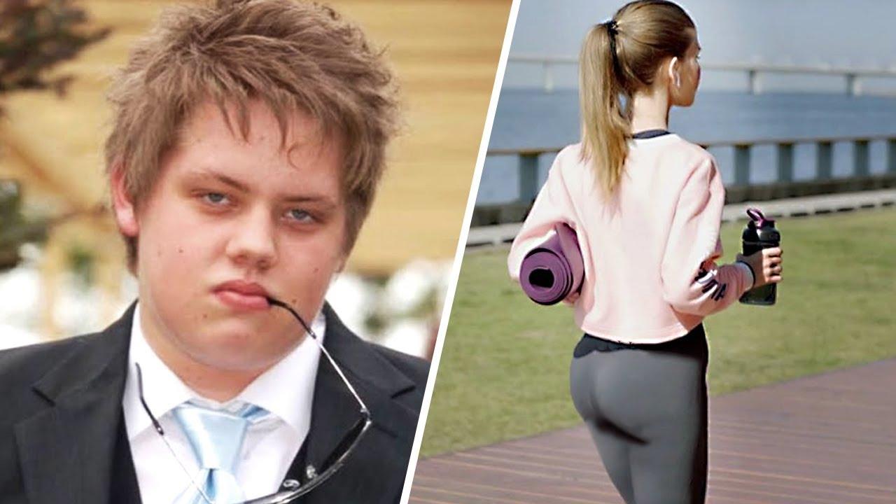 Um Menino Gordo Foi Zoado na Escola por uma Garota. 5 Anos Depois Ele Deu uma Lição Nela!