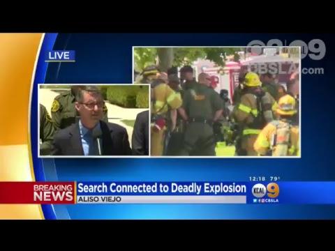 LIVE: Update On Investigation Into Aliso Viejo Explosion