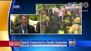 LIVE: Update On Investigation Into Aliso Viejo Explosion