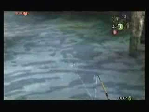 Twilight Princess: Fishing Speed Test With Cat Warping