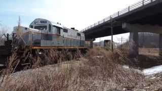 Falls Road Railroad Gravity Runaround in Holley NY 4-3-15