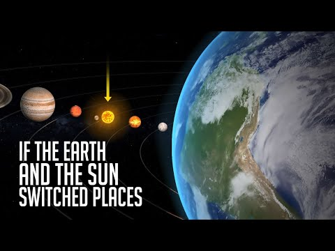 What If The Earth And The Sun Switched Places?