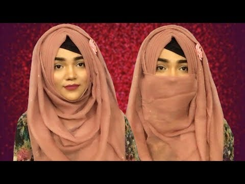 Spring Inspired Hijab Style, Full Coverage With Niqab ||Mutahhara♥️