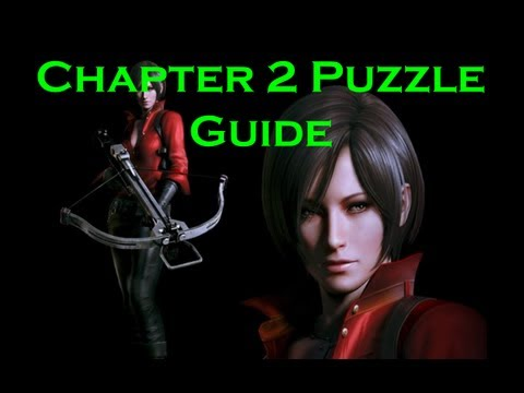 Resident Evil 6 Ada Wong Chapter 2 Puzzle Guide Youtube
