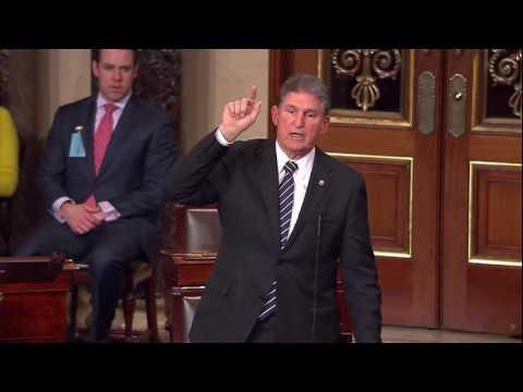Senator Manchin Defends Retired Coal Miners on Senate Floor