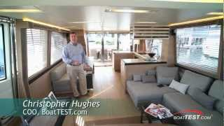 Monte Carlo Yachts 76 Innovative Salon 2012- By BoatTest.com