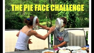 The Pie Face Challenge | Simply Liv