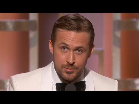 Ryan Gosling Dedicates Golden Globe Win to Eva Mendes in Touching Speech Watch!