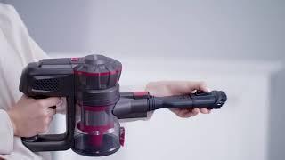 차이슨 소형 무선 대흡력 저소음 핸드 청소기