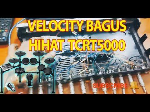 DRUM ARDUINO MEGA 16 CHANNEL VELOCITY HIHAT TCRT5000