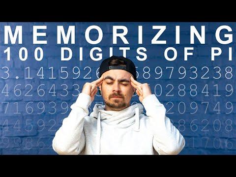 Memorizing 100 Digits of Pi in 1 Day