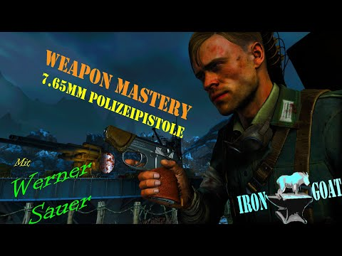 Zombie Army 4: Dead War - Weapon Mastery Guide - 7.65mm Polizeipistole Tip |