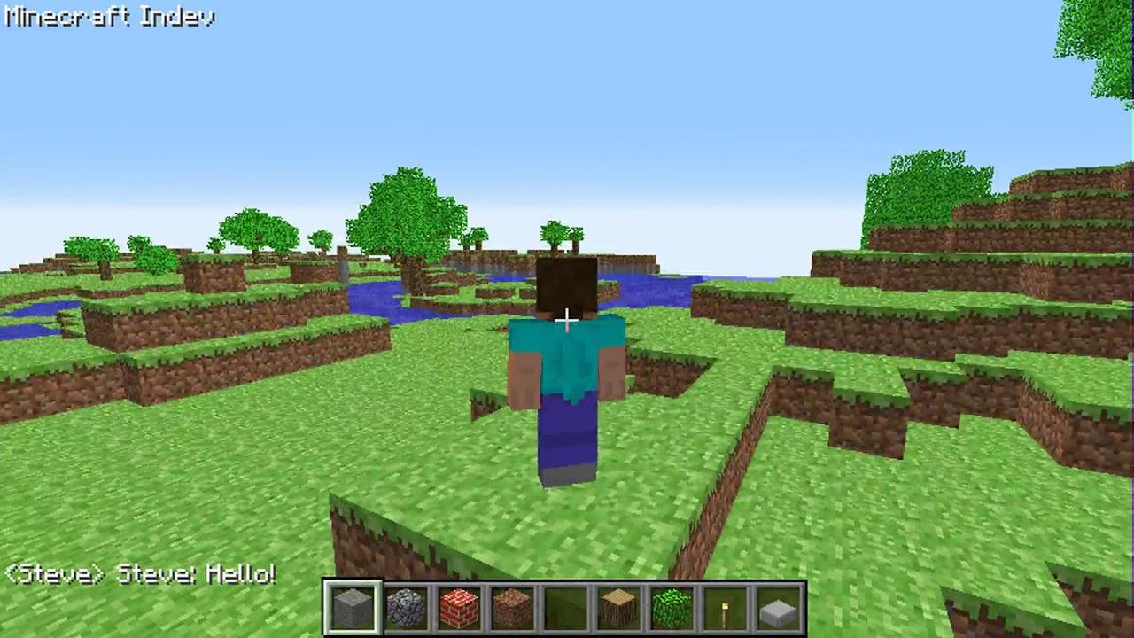 Minecraft Indev Multiplayer Test #11 - YouTube