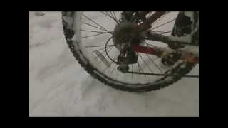 Любительское видео, дрифт на велосипеде(, 2014-11-02T06:20:57.000Z)